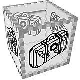 Azeeda 'Urlaub Koffer' Klar Sparbüchse / Spardose (MB00054649)