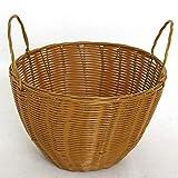 GC Aufbewahrungskorb-Box, Handgewebter Korb, Umweltfreundlicher Bambuskorb, Handgeschöpfter Korb, Natürlicher Korbkorb aus Bambus