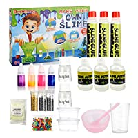 DmHirmg Slime Kit Lab to Make Your Own Slime,Slime Making Kit for Girls,The Best Gifts for Baby (Big Kit) de ACXOP