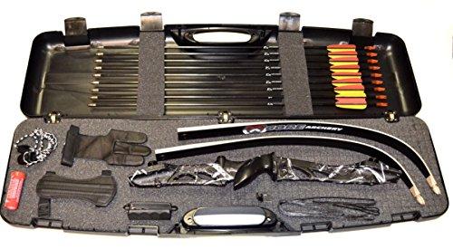 Einsteigerset Bogenset Core Jet black-camo Recurvebogen