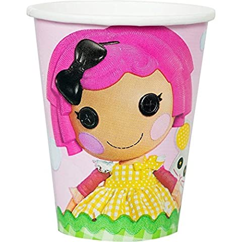 Adorable Lalaloopsy Paper Cups Birthday Party Drinkware , Pink, 9 oz.. by TradeMart Inc.