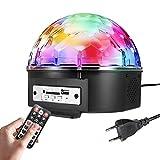 Best Haut-parleurs de qualité sonore - SOLMORE 18W 220V Lampe de Scène RGB LED Review