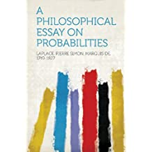 amazon co uk pierre simon laplace books a philosophical essay on probabilities