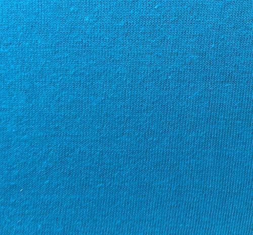 badtex24 Spannbettlaken 90 100 x 200 Spannbetttuch Bettlaken Jersey 100% Baumwolle 24 Farben Petrol 90x190-100x200cm - 2