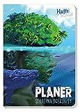 Schülerkalender Häfft PLANER Pocket A5 2018/2019 [Insel] Fadenheftung, Hausaufgabenheft/Schüler-Tagebuch/Schülerplaner