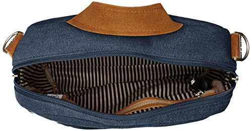 Travelon Anti-theft Heritage Tour Bag, Borsa a tracolla donna, Indigo (blu) - 33074 350 Indigo