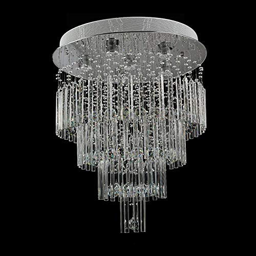 Royal 6 Licht (Hänge Pendelleuchten Pendelleuchten Deckenleuchte Crystal Traditional Kronleuchter Europa Vitange Royal Lampe Mit Gu10 6 Lichter Für Schlafzimmer Wohnzimmer Hotel Restaurant Lobby Lobby)