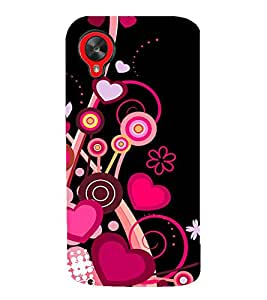PrintVisa Designer Back Case Cover for LG Nexus 5 :: LG Google Nexus 5 :: Google Nexus 5 (Parties anarkalis ankel length socks)