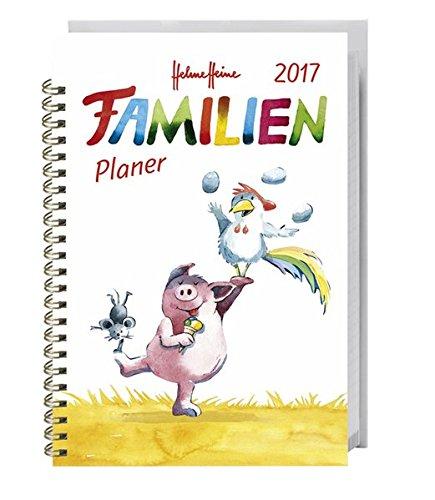 Preisvergleich Produktbild Helme Heine Familienplaner Buch A5 - Kalender 2017