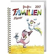 Helme Heine Familienplaner Buch A5 - Kalender 2017