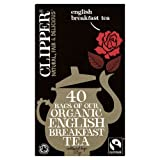 Clipper Fairtrade Bio English Breakfast Tea 40 Beutel 125g