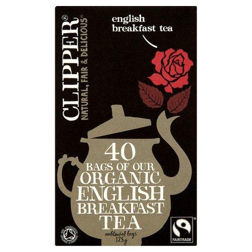 Clipper Fairtrade Bio English Breakfast Tea 40 Beutel 125g
