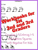 Workbooks for Ist Graders,2nd and 3rd Graders:Counting 1-5,Coloring - Best Reviews Guide