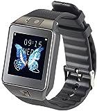simvalley MOBILE Telefon Uhr: Handy-Uhr/Smartwatch mit Kamera, Bluetooth 4.0, iOS & Android (Handyuhren)