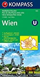 : Wien: 1:15000. Innenstadt 1:10000. Ausflugskarte 1:200000 (KOMPASS-Stadtpläne, Band 433)