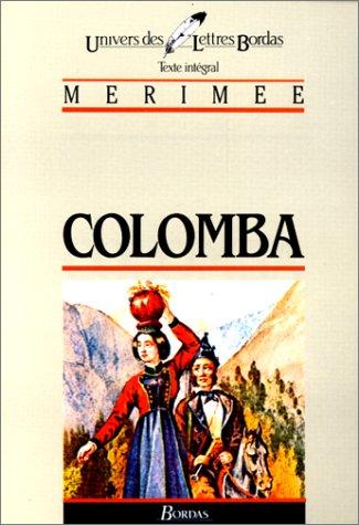 MERIMEE/ULB COLOMBA (Ancienne Edition) par Prosper Mérimée