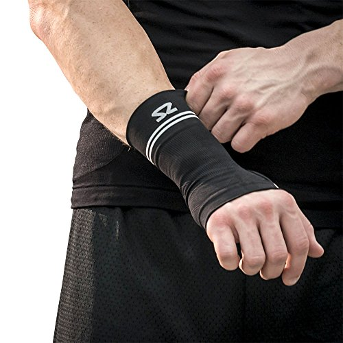 Zensah Handgelenkbandage Kompressions, Schwarz, M, 018372 (Socken Zensah Kompressions)