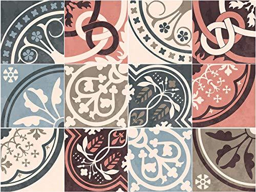 Pegatinas para Azulejos de Estilo marroquí Vintage – Juego de Adhesivos para...