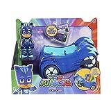 Enlarge toy image: JP PJ Masks Cat Boy Car Vehicle and Figure -  preschool activity for young kids
