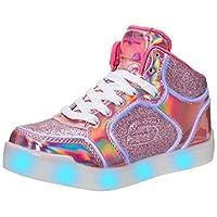 Kids Girls Skechers S Lights Energy Lights Ultra Glitzy Glow Trainers