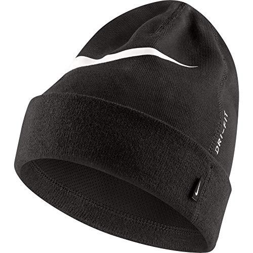 Fußball-fußball-beanie-mütze (Nike Team Beanie, Anthracite/White, one Size)