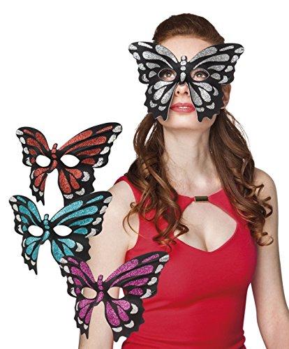 Fancy Ole - Damen Frauen Venezianische Maske Schmetterling, - Blut-splatter-halloween-make-up
