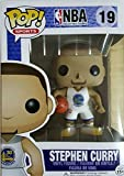 Pop NBA Stephen Curry White Uniform Vinyl Figure by Funko NBA