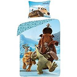 2 tlg Bettwäsche Kinderbettwäsche 140x200+70x90 963 Ice Age