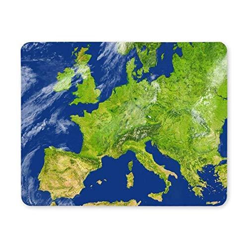 Raum-Planeten-Mausunterlage, Spiel-Mausunterlage, Mausunterlage Europa ausführliche Planeten-Oberflächen-Mausunterlage-lustige Entwürfe Gummi Mousepad Spiel