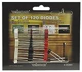Velleman Dioden-Sortiment 120-teilig, K/DIODE1