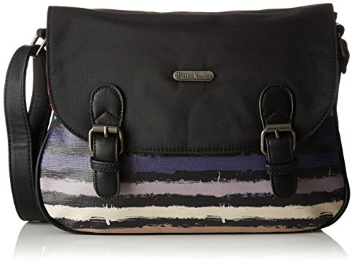 Little Marcel femme Ol03 Sac bandouliere Multicolore (Paint)