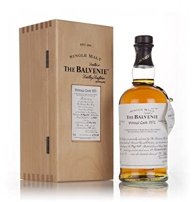 Balvenie 33 Year Old 1972 Single Malt Whisky