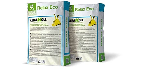 Colla adesivo per piastrelle relax eco grigio kg. 25: amazon.it: fai