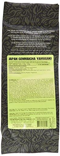 Metropolitan Tea 50 Count Pyramid Shaped Teabags, Japan Genmaicha Yamasaki