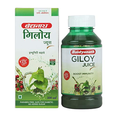 Baidyanath Boost Immunity Natural Giloy Juice (500 ml)