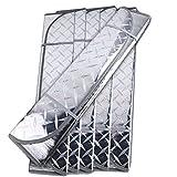 Toruiwa Auto Sonnenschutz Faltbare Frontscheibe Sonennblende Doppelseitig Aluminiumfolie Windschutzscheibe Scheibenschutz 140 * 70cm Silber
