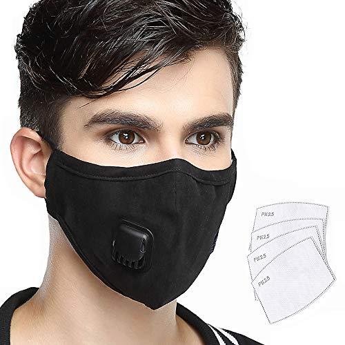 Fast Deliver 1pcs Unisex Cotton Breath Valve Mouth Mask Anti-dust Anti Pollution Mask Cloth Activated Carbon Filter Respirator Mouth-muffle Distinctive For Its Traditional Properties Personal Health Care Health Care