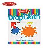 Melissa & Doug Plastic Drop Cloth (0.9 x 1.2 meters) - Fits Under Deluxe Standing Easel
