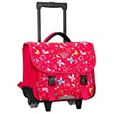 Snowball - Madisson - Sac à Dos Cartable à roulettes Rose AIC-T95438 / 38 cm - Rose