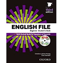 English File 3rd Edition Beginner Student's Book + Workbook with Key Pack (English File Third Edition)