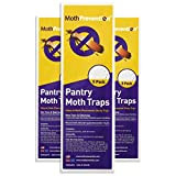 Moth-Prevention Despensa Mariposa Nocturna de llew Mejia trampas 15-Pack Mejor Catch-Rate para bebés de Alimentos en el Mercado.