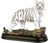 StealStreet Ss-g-19718Tigre Blanc et Collection Wild Cat Animal Décoration Figurine Statue