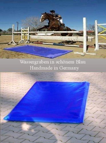 Hobby, Sport + Freizeit Wassergraben Sprung Hindernis Reithindernis - Wählen Sie aus 4 Grössen (3x2 Meter)
