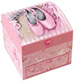Sophia Musical Ballerina Square Jewellery Box with Drawer