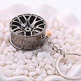 Tiduer creativo caldo auto parte modello BBS cerchione pneumatici portachiavi portachiavi anello portachiavi key-fob