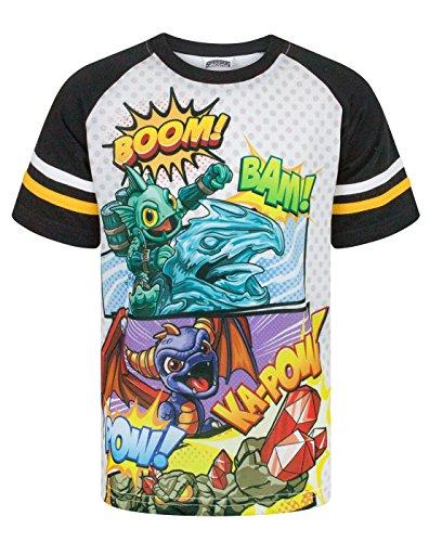 Skylanders Boom Boy's Raglan T-Shirt (7-8 Years)