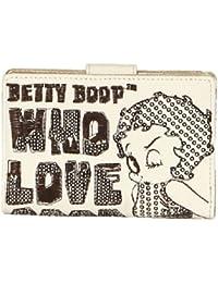 Betty Boop Pequeña Cartera Blanca