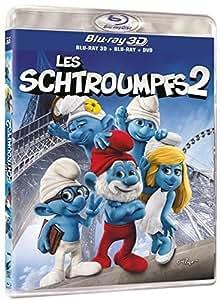 Les Schtroumpfs 2 [Combo Blu-ray 3D + Blu-ray + DVD + Copie digitale]