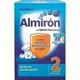 Almirón Leche en polvo 6m+ - Paquete de 2 x 400 gr - Total: 800 gr