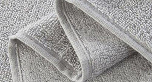Set Asciugamani, Cotone, Più Colore, Confezione Da 3 ( Colore : 4#Grey ) 3#Light gray